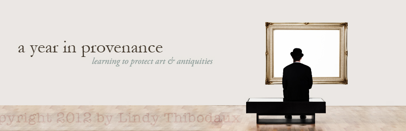 A Year in Provenance blog header design