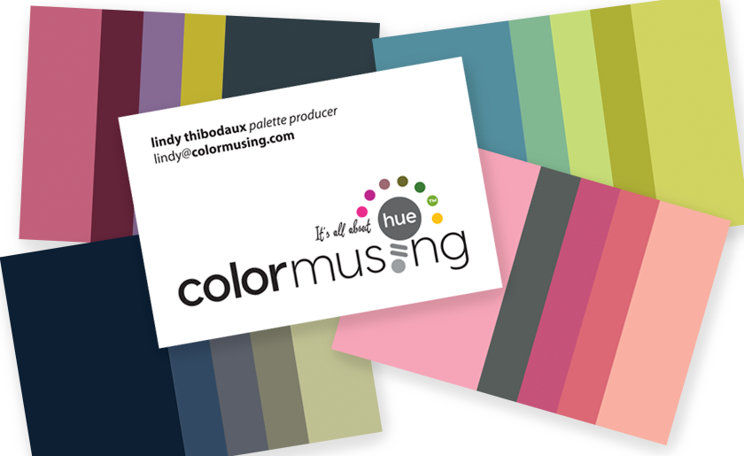Colormusing business cards