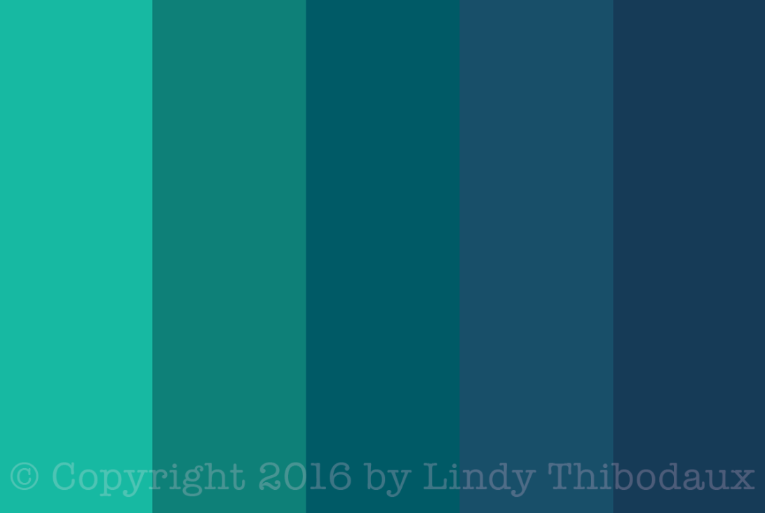 Blue Christmas color palette from Colormusing