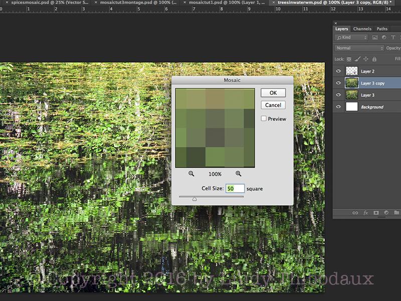 Screenshot from Photo-to-Mosaic tutorial
